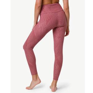 Onzie High Rise 7/8 Leggings Pink XS